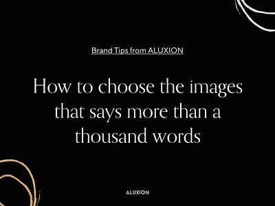 Brand Tips branding tips aluxion design