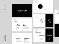 Brand Book Aluxion