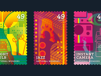National Wonders Stamps