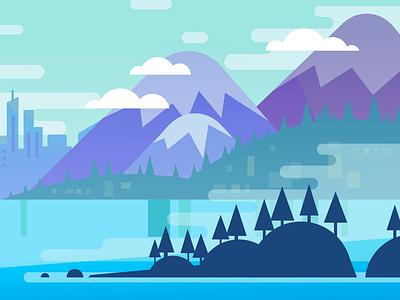 Seattle infographic map washington seattle vector color design animation illustration motiongraphic