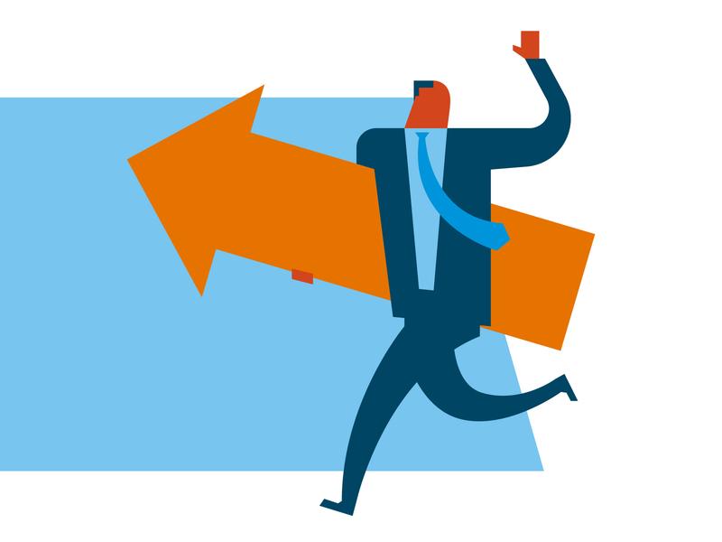 Culture of Transformation salesforce infographic icon illustration organization digital leader culture transformation