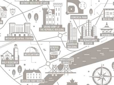 Motor City Map