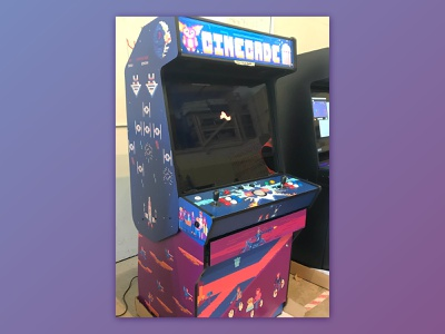 Cinecade Mashup design product color vector flat movie starwars pixel illustration game arcade vintage