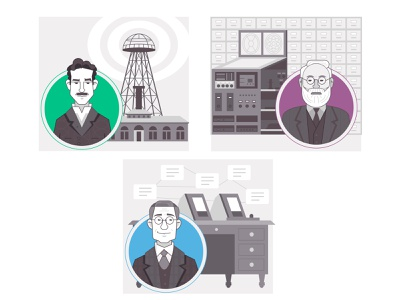 The Epic History of Wifi technology icon infographic illustration history tesla netgear internet wifi