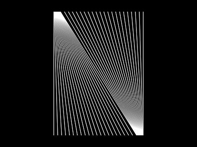 N - 36days of type - #36daysoftype - 2020 geometry free font graphic design calligraphy modular custom type letter a illustration sergi delgado opart optical art op art lettering typography 36daysoftype 36days