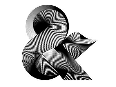 "Ampersand ""&"" - 36days of type - #36daysoftype - 2020 ampersandtogether 36daysoftype07 free font ampersand calligraphy modular custom type letter illustration sergi delgado opart optical art op art lettering typography 36daysoftype 36days 36days-and"