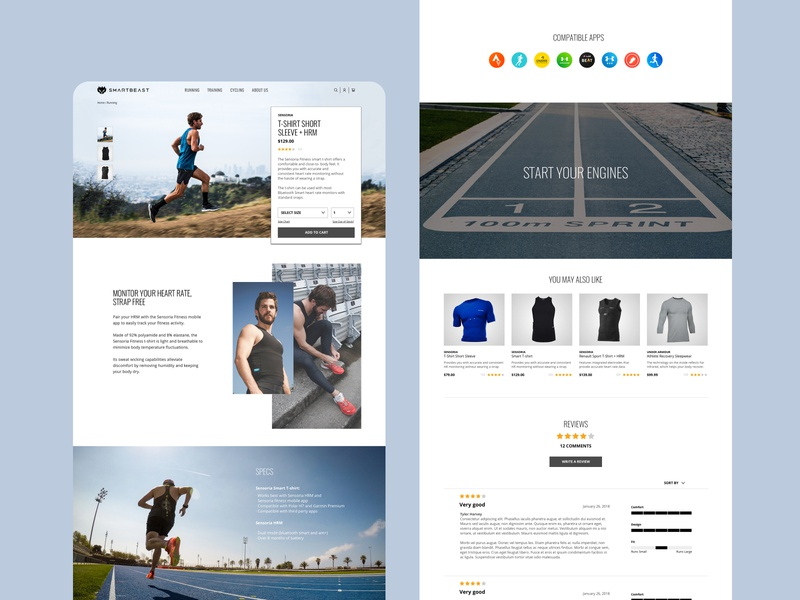 Daily UI 012   ECommerce Shop branding interaction ux website design ui