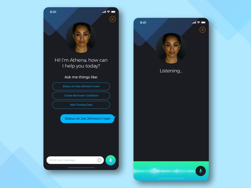 Daily UI 013   Direct Messaging chatbot app mobile interaction ux design ui