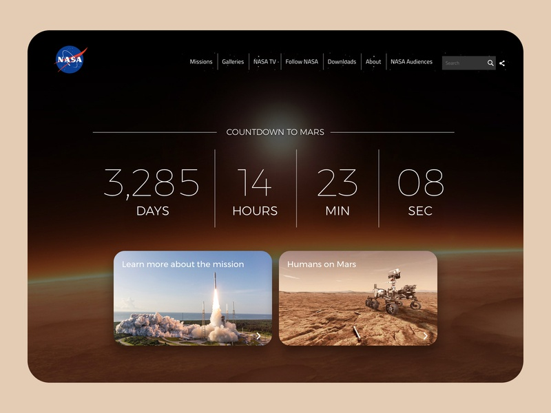 Daily UI 014   Countdown Timer countdowntimer countdown interaction website ux design ui