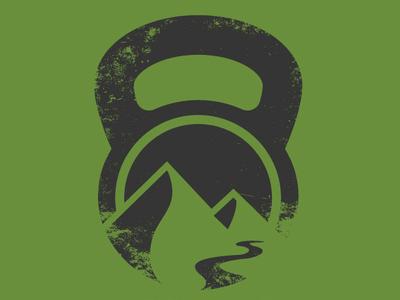 Kilo Logo V2 Green Distressed icon logo