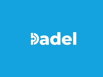 Dadel Logo logodesign freelance design freelance typography branding logo design digital vector