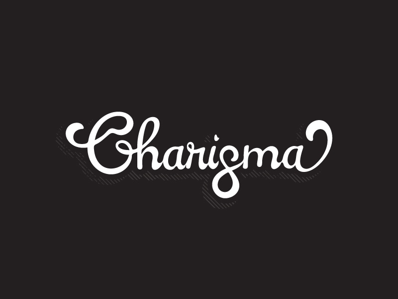 Charisma Leather loops custom leather logotype lettering