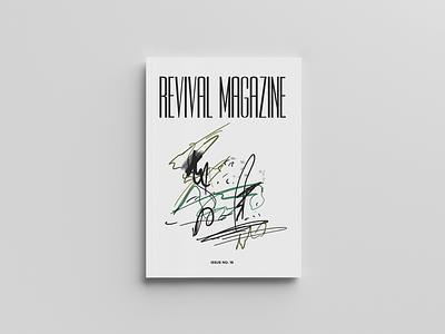 Revival Issue 16 publication design magazinedesign magazine cover design typography editorial design print design