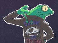 Croak or Croak - Frog Motorcycle Gang #2