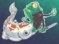 Turf War - Frog Motorcycle Gang #3