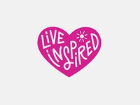 Live Inspired Badge By Fuze Branding