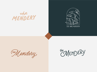 The Mendery Logo Design Exploration