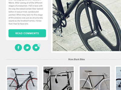 Your Daily Fixed social links social ui