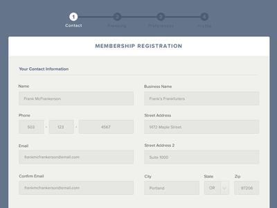 FP Transitions registration