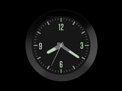 Analog timepiece watch clock face time clock