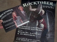 Rocktober 2013 Postcard + Poster Commission
