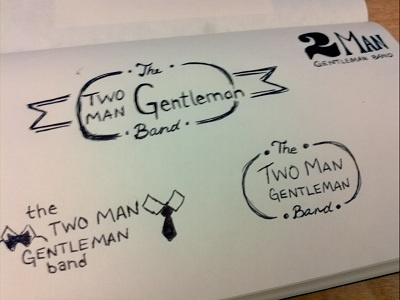 Two Man Gentleman Band concepts