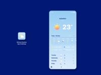 Minimal Weather App Challengeuplabs challenge