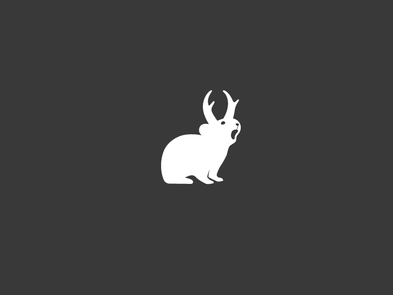 Pikalope boulder colorado logo branding icon animal