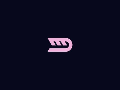 Mentos Designs symbol d m monogram logo identity exploration branding brand