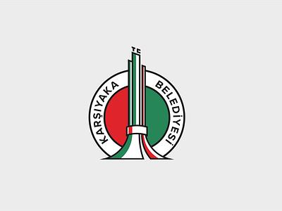 Municipality Of Karsiyaka Logo / Not Official vector branding flat logo municipality turkey izmir karsiyaka