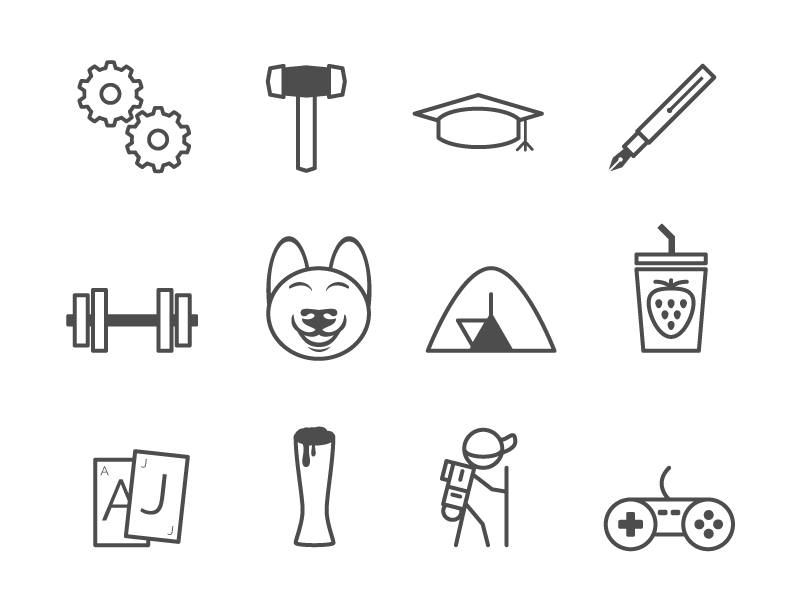 Fun Icons By Rusty Jones On Dribbble