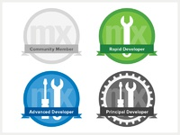 Dribbble rewards badges