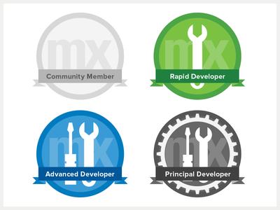 Mendix Certification Badge Concepts