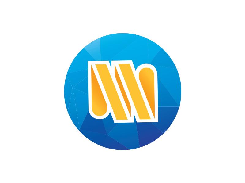 Mendix World Logo Icon Concept innovation illustrator design branding mendix world mendix