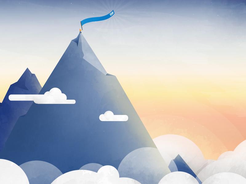 Mendix Sales Kickoff 2016 illustration branding mendix