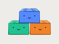 Cute Little Building Blocks