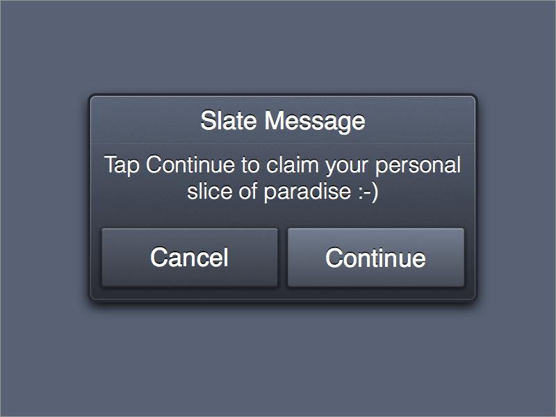 Slate message 2x