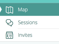 Map Sessions Invites