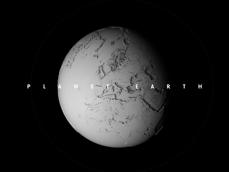 Planet earth planet earth globe cinema4d concept 3d design digital