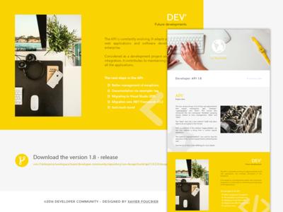 Newsletter release api development emailing template newsletter