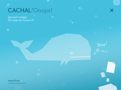 Cachal'Ooops! not found aprilfools underwater page 404