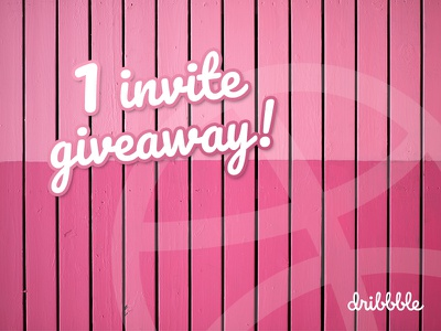Dribbble Invite larochelle invite giveaway invite dribbble