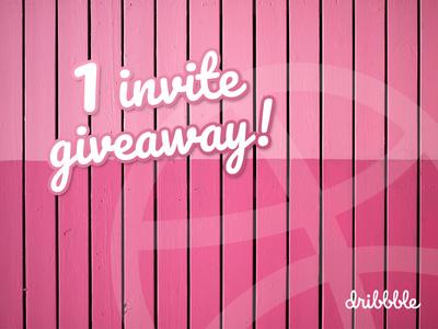Dribbble Invite larochelle invite giveaway invite dribbble
