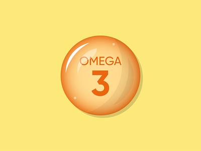 Omega-3 Illustration app ux vector illustrator illustration design art