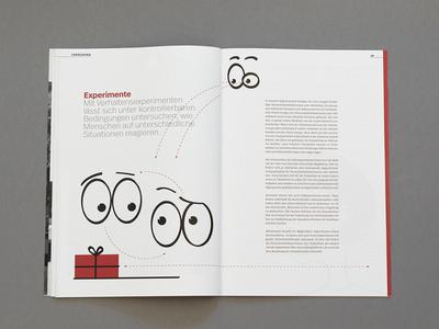 Brochure illustration editorial