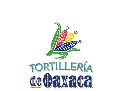 Tortillería de Oaxaca Logo Design illustration branding graphic design print design print logo design logo