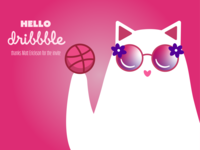 Well hello there Dribbble!