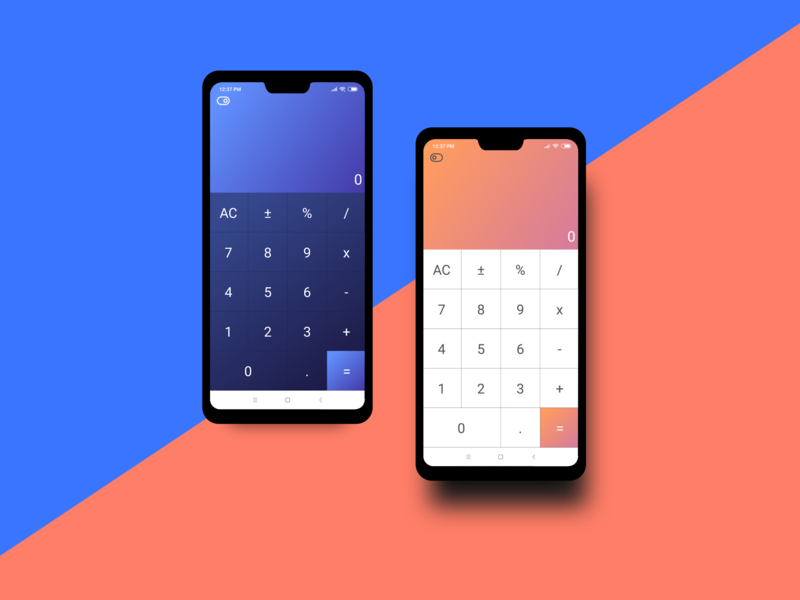 Calculator App - Design to Develop ux ui uiux ui design mobile app design mobile app mobile ui app design app