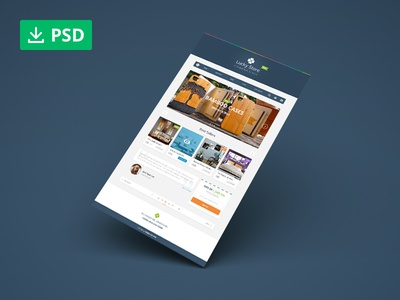 Lucky Store: Free PSD Sample