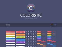 Coloristic presentation